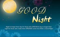 Widescreen Good Night Wallpaper High Resolution