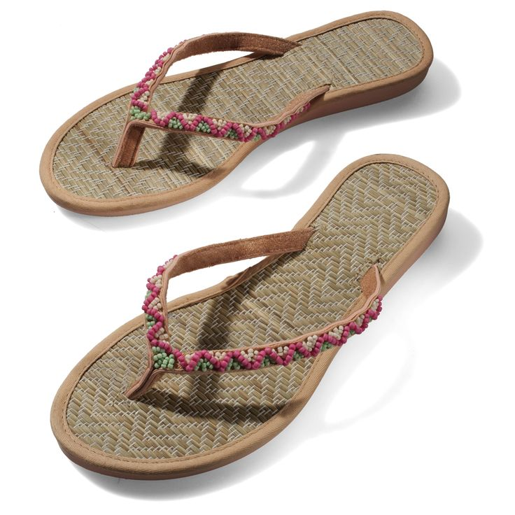 No summer is complete without a good pair of flip-flops and these cuties are to die for. You can pair them with shorts, maxi-dresses, skirts, pants - well pretty much with everything. Throw them into your bag when you are wearing heels. You never know when your feet start hurting from all that walking and need something more comfortable to wear. Keep flip-flops near if you do not want to go bare-foot .