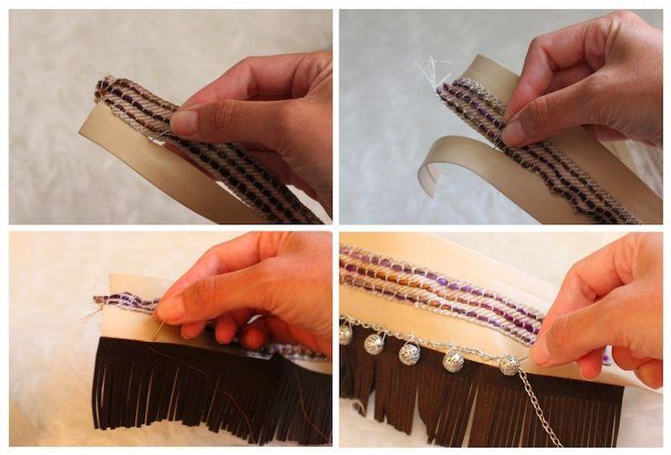 Lady Framboise: DIY: Cubre-Sandalias