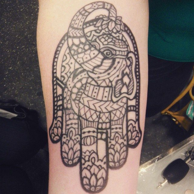 122 best images about body ink on pinterest henna henna for Hamsa elephant tattoo
