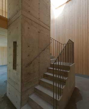 In Praise of Shadows Arkitektur design for cemetery service building.