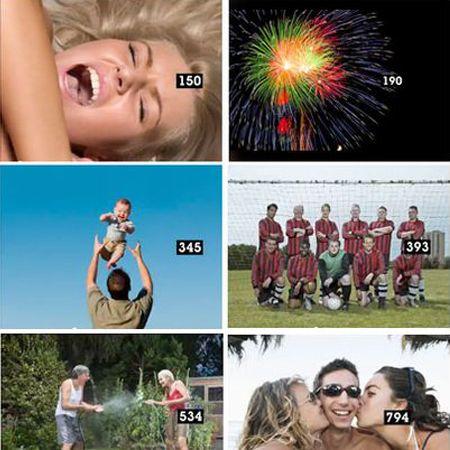 873 photos Getty Images pour un spot de 1 minute !