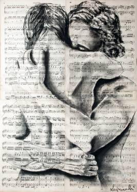 """Saatchi Art Artist Krzyzanowski Art; Drawing, """"True feelings"""" #art"""