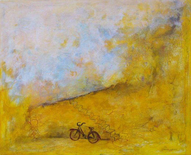 "Saatchi Art Artist Doris Duschelbauer; Painting, ""CURIOSIDAD"" #art"