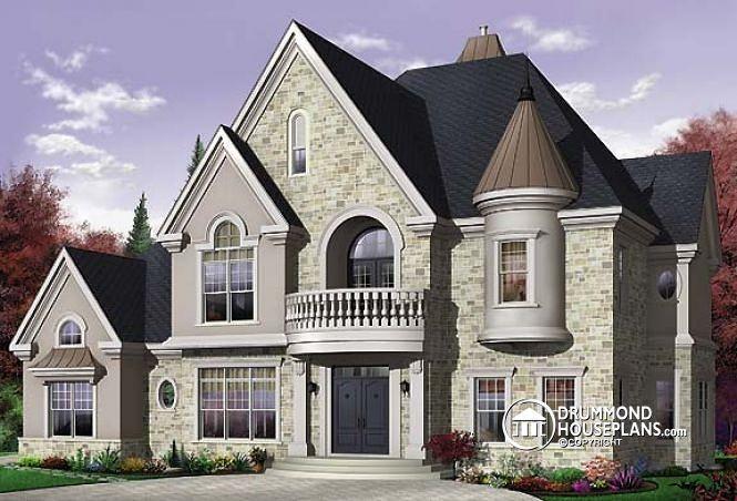 House plan W3874 by drummondhouseplans.com