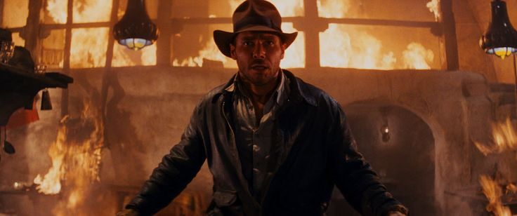 Harrison Ford as #IndianaJones in Raiders of the Lost Ark (1981).