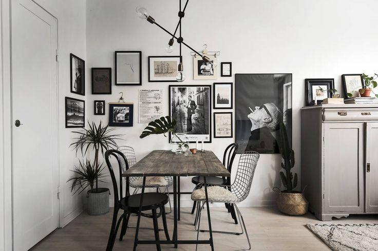 Bilder über Eck hängen