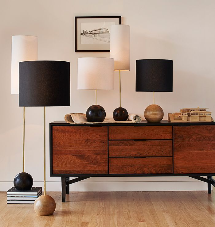 The Makerista: Modern Buffet Lamps from Rejuvination