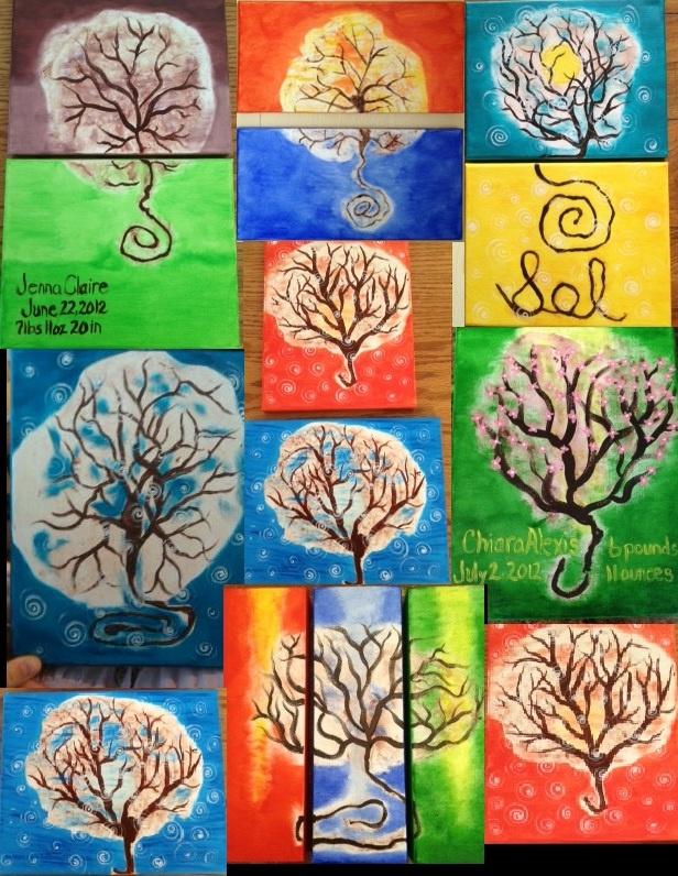 San Antonio Placenta Services  Beautiful canvas placenta prints