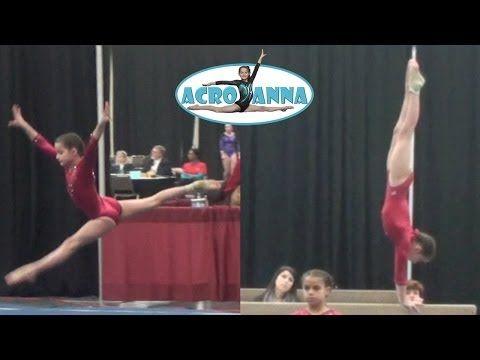 annie the gymnast gymnastics meet