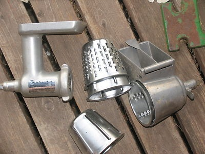 Kitchenaid Grinder, Grater & Slicer attachment set | eBay