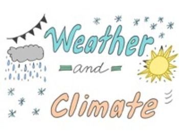 Coolest PowerPoint about weather and climate FREE by Science Doodles
