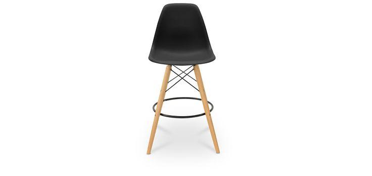 Tabouret de bar DSW Charles Eames Style - Polypropylène Matt
