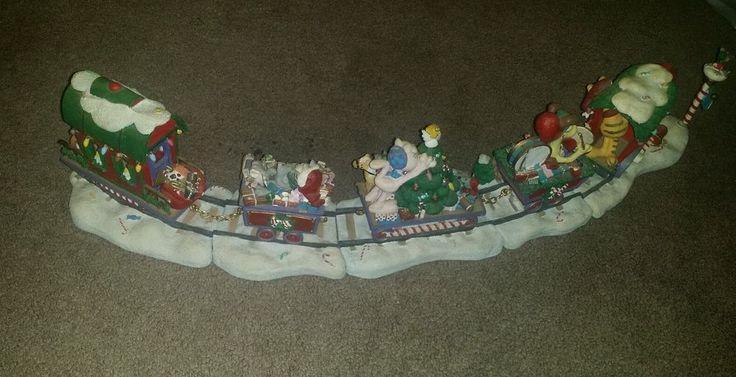 DANBURY MINT GARFIELD CHRISTMAS EXPRESS TRAIN SET/ PAWS BY JIM DAVIS