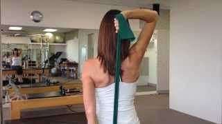 Pilates videos with Melissa Laing