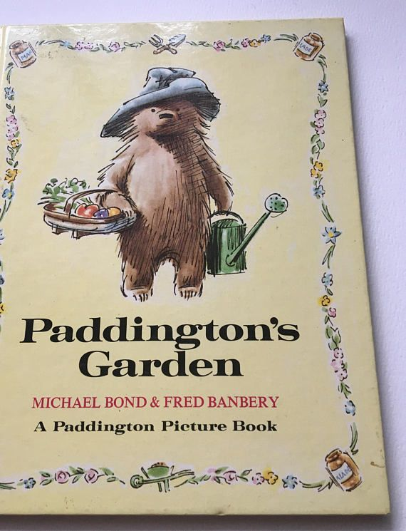 Paddingtion's Garden Picture Book Bond and Banbery 1972