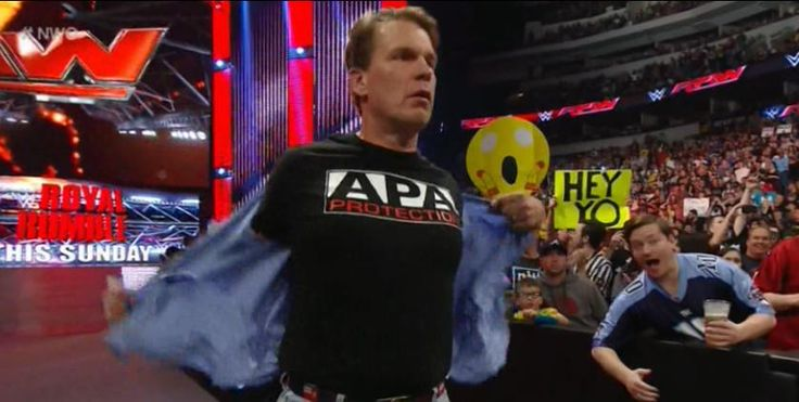 """Things just got REAL for #TheAscension!!  #TheAPA is back!! @JCLayfield & Ron Simmons!! #RAW"""