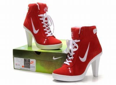 Nike High Heel Shoes. If I ever have lots of money to spend later in life, and a reason to wear these, I would totally buy them.