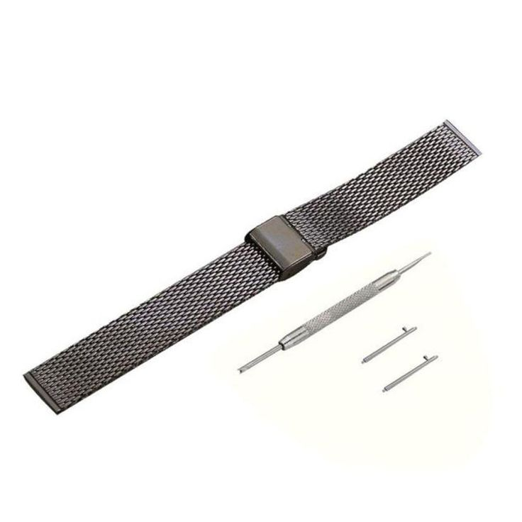 >> Click to Buy << Adroit 2016 New Milanese Stainless Steel Quick Release Watch Band Wristband + Tool For Pebble Time Round 11S61013 drop shipping #Affiliate
