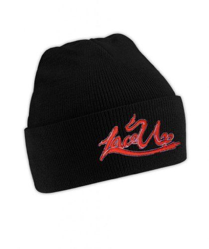 Machine Gun Kelly MGK Lace Up Beanie Hat BadBoy Wild Boy:Amazon:Clothing