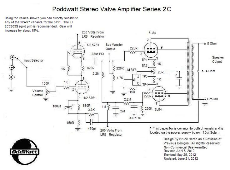 ment Page 1 moreover Schematic Vacuum Tube Line Stage together with Vacuum Tube Headphone Lifier Schematic further  on output transformer tube amp 4 8 16 ohm diagram