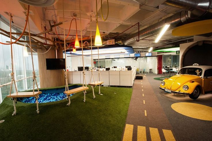 space recreates iconic landmarks of mexico city within google office