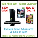 Holiday Gift Guide: 4GB Xbox 360 with Kinect review & giveaway (US only)
