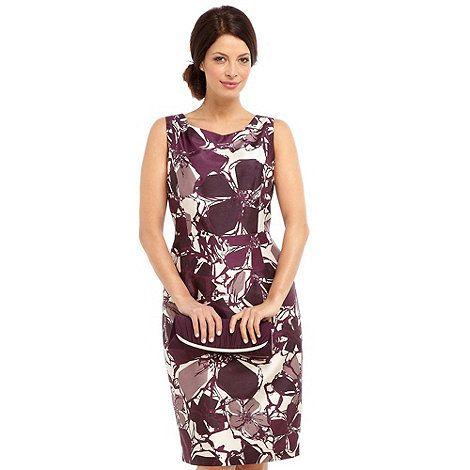 Jacques Vert Contemporary Floral Dress- at Debenhams.com