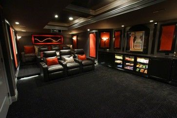 Homage to Audrey - contemporary - media room - baltimore - Gramophone