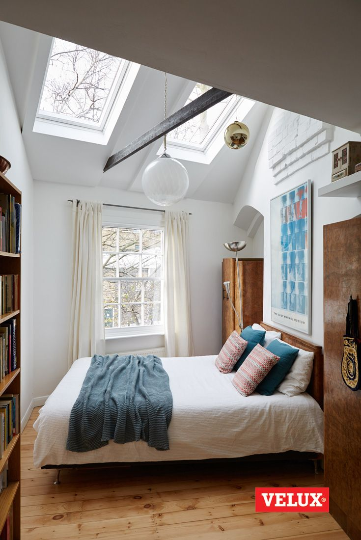When a family grows, space suddenly shrinks! Here's how Tania and Mike used VELUX roof windows to create a bright, welcoming extension, filled with daylight. A space everyone now wants to spend time in. Find out more