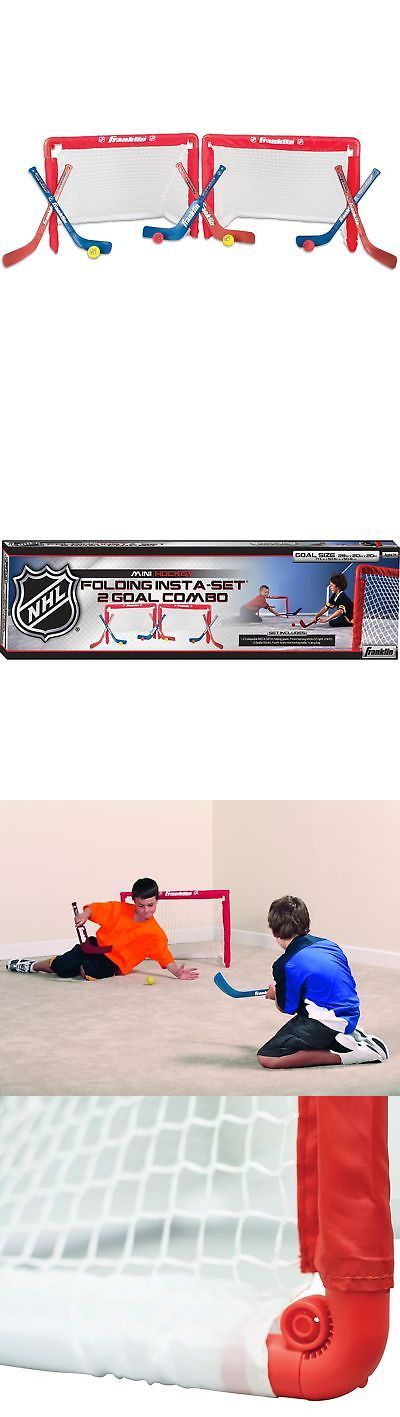 Goals and Nets 165936: Franklin Sports Nhl Mini Hockey Goal Set Of 2 Red -> BUY IT NOW ONLY: $36.99 on eBay!
