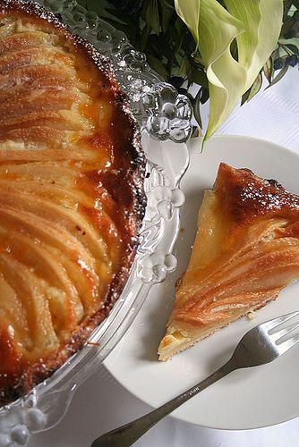 Tarte aux poires,  beurre noisette et anis vert. - Brown Butter Pear Tart w/ Anise seeds by Le Petrin
