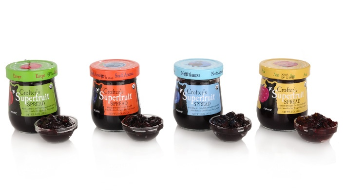 Crofter's Organic Superfruit Spreads packed with 1 pound of organic fruit each!