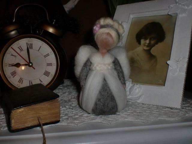 ♥ andělička myší kožíšek ♥
