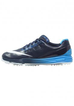 Nike Golf - LUNAR CONTROL 4 - Chaussures de golf - midnight navy/white/photo blue