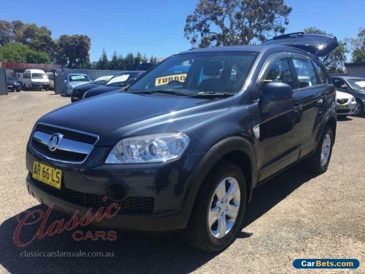 2007 Holden Captiva CG CX (4x4) Grey Automatic 5sp A Wagon #holden #captiva #forsale #australia