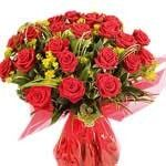 Red Roses Hand Bouquet LUV003