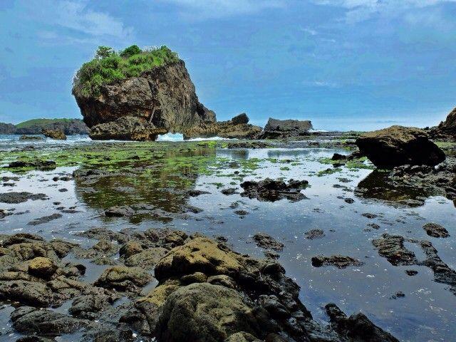 Jogan Beach - Hidden beaches in Gunung Kidul, Central Java, Indonesia