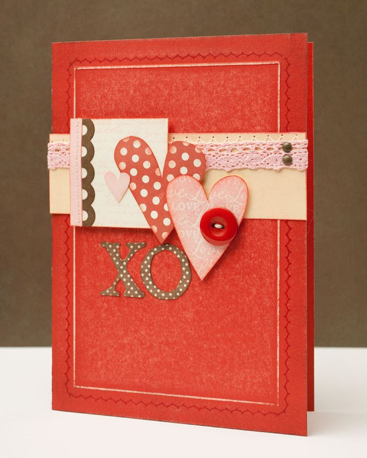 Valentineu0027s Day Card Idea From