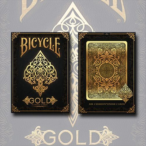 Gold Elite Deck Bicycle Playing Cards Poker Size USPCC Limited Edition Sealed