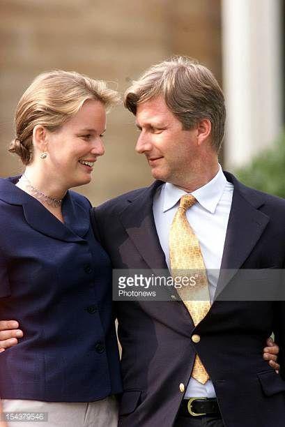 Prince Philippe of Belgium is engaged to Mathilde d'Udekem d'Acoz