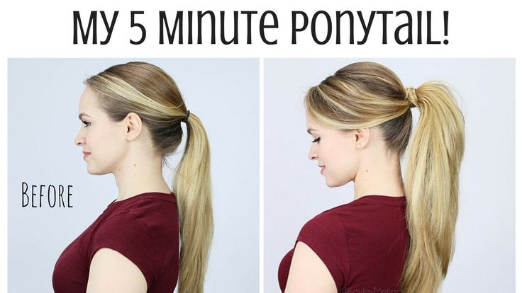 In just a few minutes, you can take that boring pony tail and make it something special. The video above byKayley Melissaprovides some cool ways to rock a pony tail throughout the week. The great thing about these styles is that they give your hair a little extra volume and