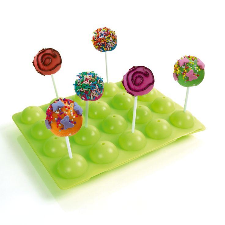 Découvrez les Cake Pops, ces gâteaux en forme de sucettes qui apportent de la fantaisie sur la table.