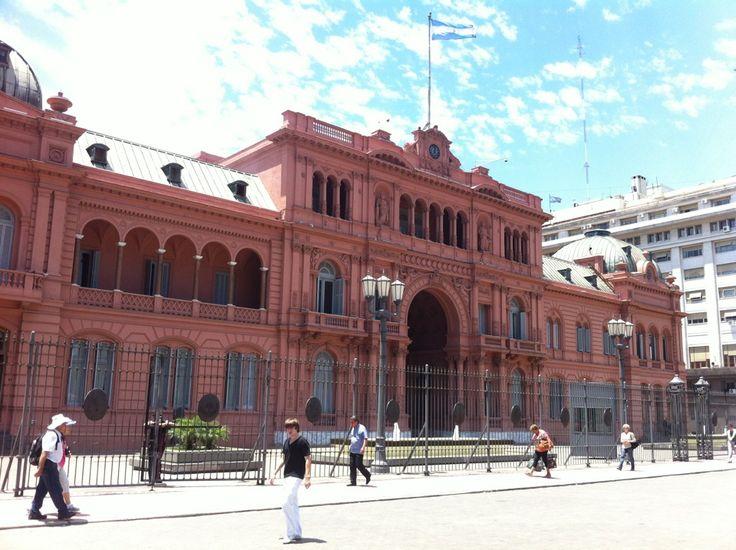 Casa Rosada in Ciudad de Buenos Aires