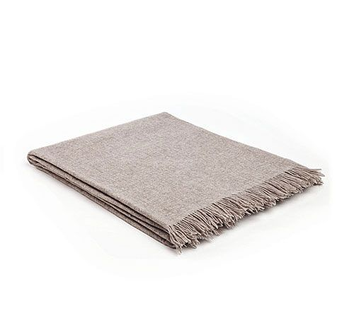 Mrs.Me home couture|Throw|Fly Taupe melee