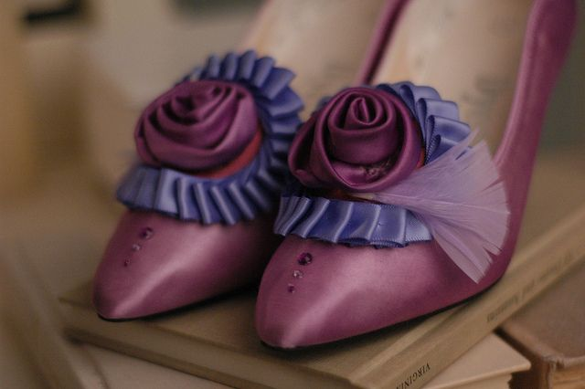 how to make marie antoinette shoes