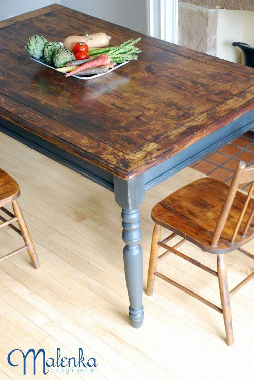 find this pin and more on dining tables chairs chalk paint ideas - Paint Dining Room Table