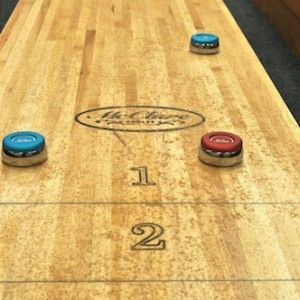 When you're away from home and the option of playing on your own shuffleboard isn't in play, you can try creating your own version of the game with just about any tabletop. Creating your own DIY shuffleboard table is as simple as finding a perfectly flat surface, a puck-like object, and knowing the rules of …