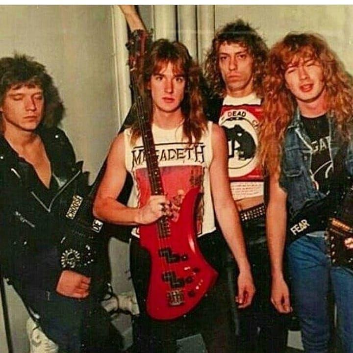 Metal bands thrash 80er Metal Bands