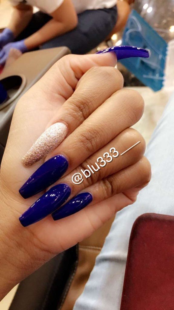 Attention Pinterest Blu333 Add Sc Just Blu333 Youtube Blue S With Blu333 Tumbler Justblu333 Instagram F Gorgeous Nails Pretty Nails Beautiful Nails